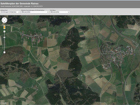 Screenshot Satellitenplan