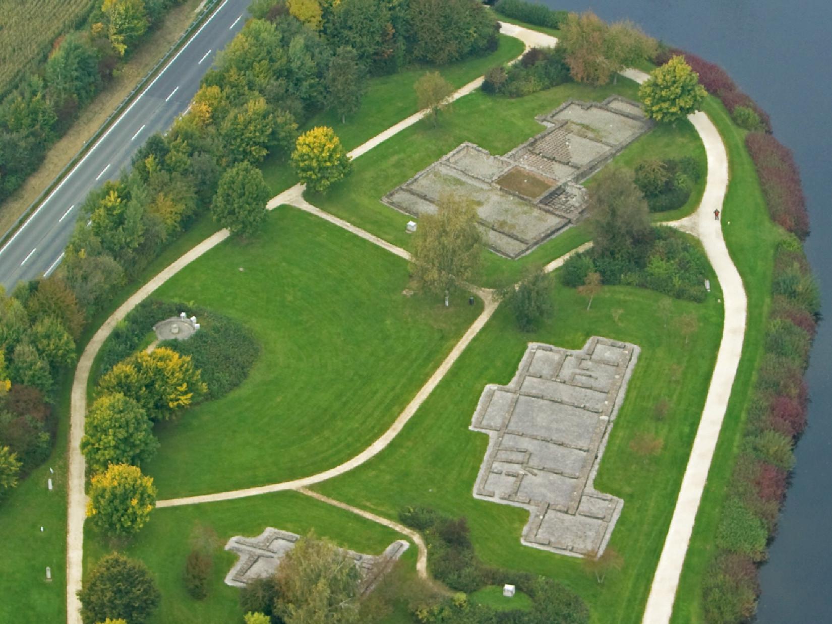 Römerbad und Zivilsiedlung